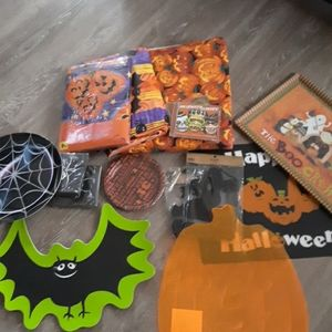 Large lot of Halloween items